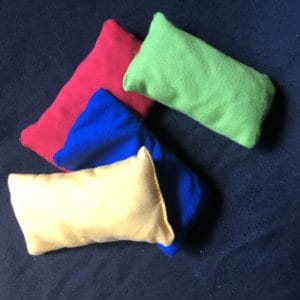 Colored Cherry Pit Bags