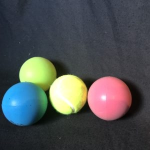 Colored Moldable Balls