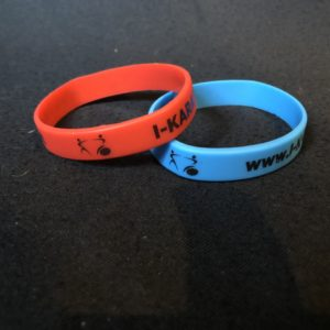 Wristband Plastic with IKF logo ( Pair )