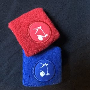 Wristband Textile with IKF logo ( Pair )